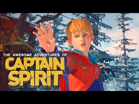 THE AWESOME ADVENTURES OF CAPTAIN SPIRIT - FULL GAMEPLAY WALKTHROUGH - (Life Is Strange 2 Prequel) thumbnail