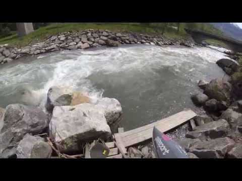 Bourg St Maurice 2015, stage kayak CSBCK