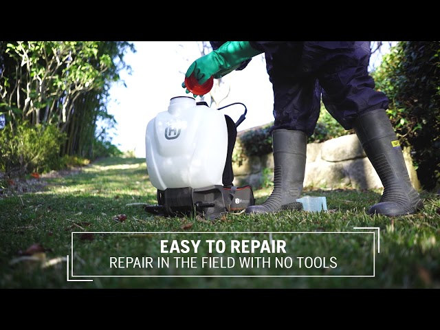 Husqvarna 15L Backpack Sprayer Review