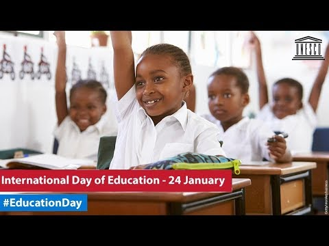 First Ever International Day of Education