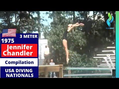 1975 Jennifer Chandler USA - At the Woodlands