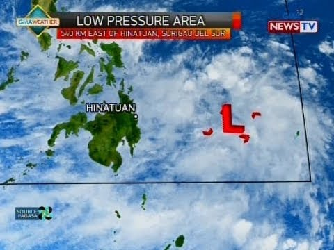QRT: Weather update as of 5:59 p.m. (January 15, 2018)