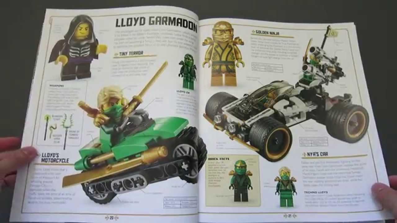 Review: LEGO Ninjago: The Visual Dictionary - YouTube