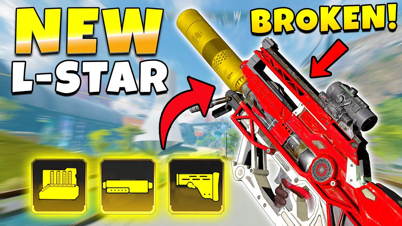 *BROKEN* NEW L-STAR BUFF IN SEASON 10 IS INSANE! - Top Apex Plays, Funny & Epic Moments #708