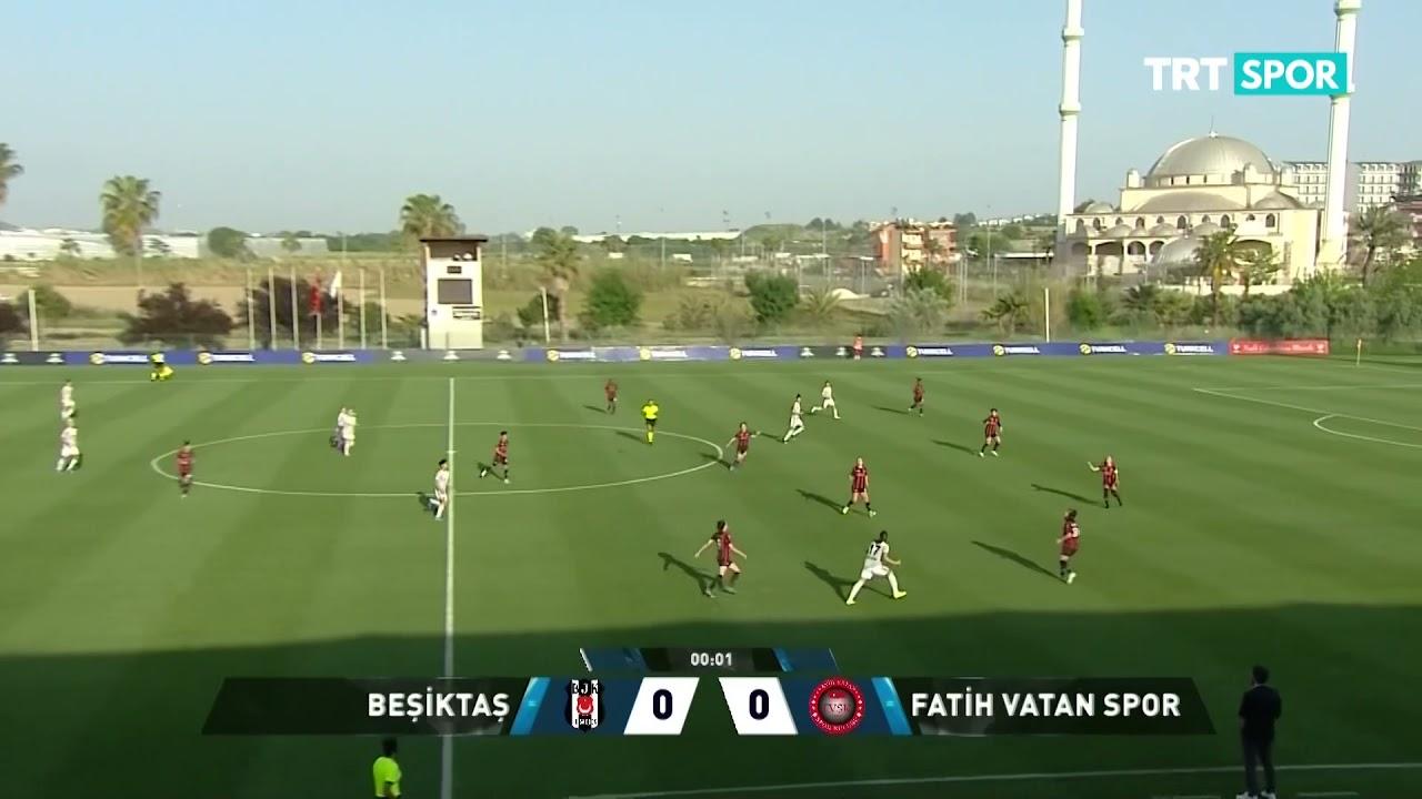 Beşiktaş Vodafone 2-0 Fatih Vatan Spor | Maçın Özeti