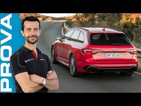 Audi RS4 Avant, la sportività è un dono di famiglia!