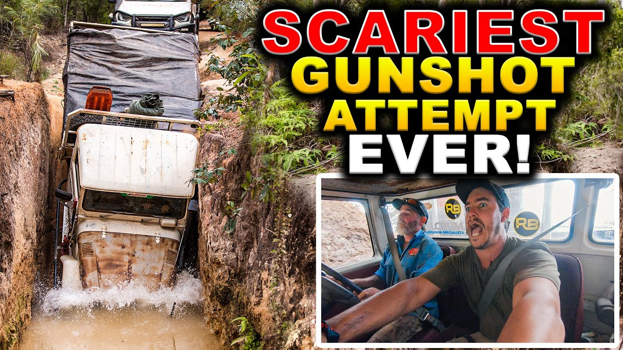 Download 4WD FIRE ON OLD TELE TRACK – worst nightmare… + Farm Truck does Cape York!
