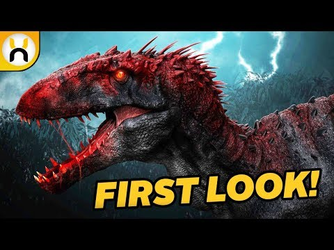Jurassic World: Fallen Kingdom Indoraptor & More REVEALED in Promo Art