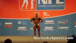 Robert Burneika & IFBB Nordic Pro contest 2017 Video