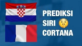 Juara Piala Dunia 2018 Menurut Siri & Cortana