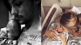 Louis Tomlinson Reveals Son's Name & First Baby Photos!