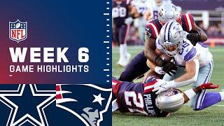 Cowboys vs. Patriots Week 6 Highlights   NFL 2021