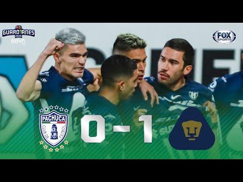 ¡PUMAS SE LLEVA LOS 4TOS DE FINAL IDA! | PACHUCA 0 - 1 PUMAS | Liga MX