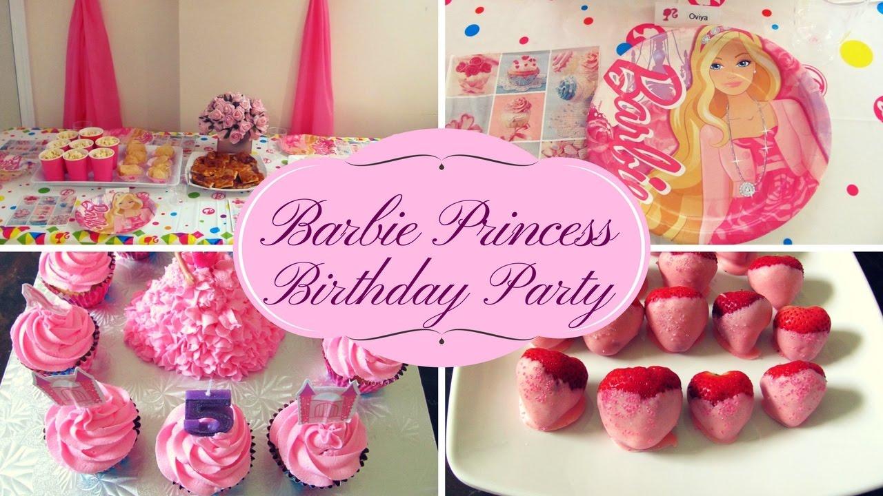 kids barbie birthday party tips ideas youtube rh youtube com barbie birthday party ideas 6 year old barbie birthday party games