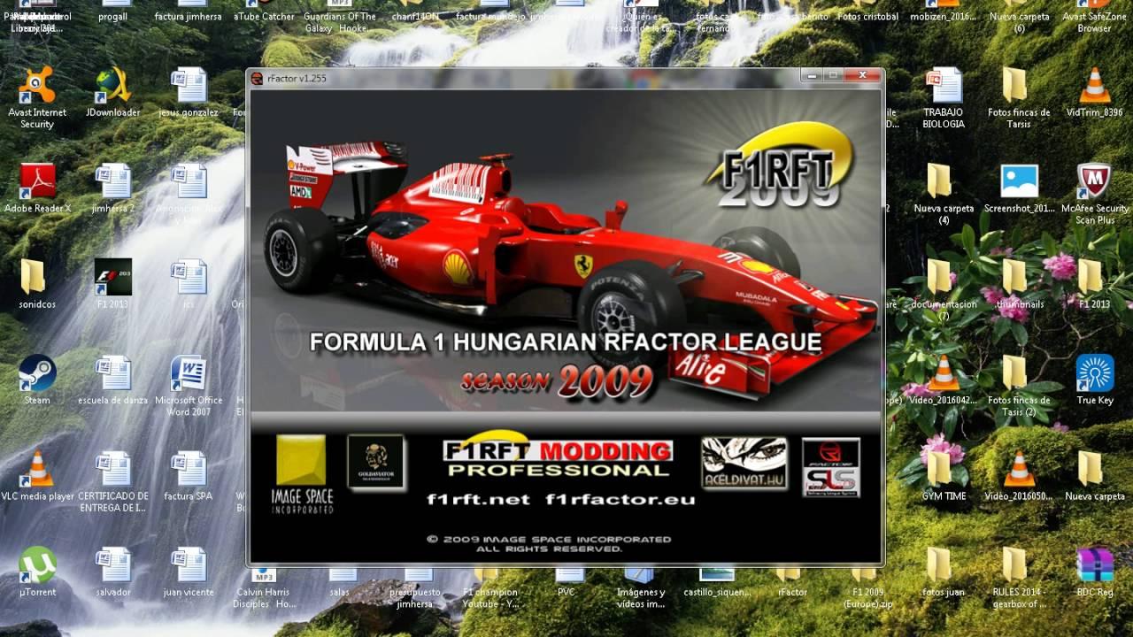 SE REANUDA EL CAMPEONATO ONLINE RFACTOR F1! Tutorial y apuntaros ...