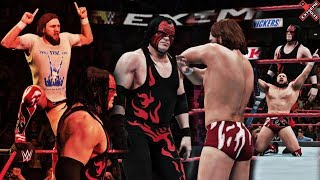 Team Hell No Wins the Tag Team Titles feat. Modded Entrance/Victory Scene (WWE Extreme Rules 2K18)