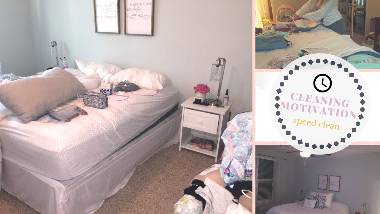 how to start cleaning a messy bedroom