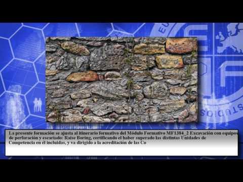Mf1384_2 Excavacion Con Equipos De Perforacion Y Escariado Raise Boring Online - Cursos Online