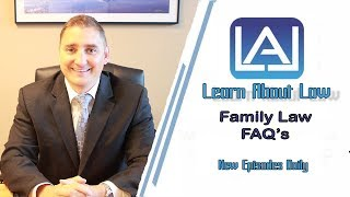 Family Law FAQ's | Learn About Law