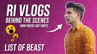 Rimorav vlogs presents Ri vlog behind the scenes BTS   List Of Beast  