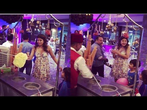Shamita Shetty Enjoyed Turkish Ice Cream Prank At Shipa Shetty Son Viaan's 6th Birthday Party
