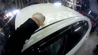 ремонт крыши авто