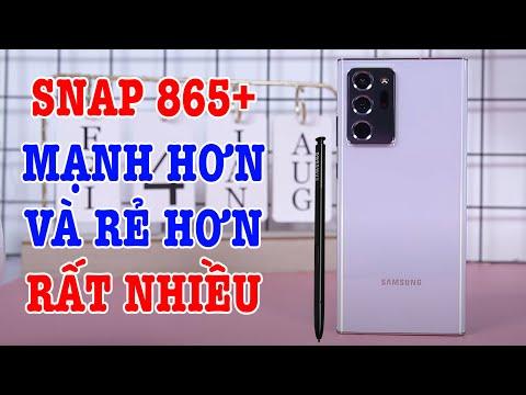 Mở hộp Galaxy Note 20 Ultra 5G Snapdragon 865 Plus GIÁ CỰC NGON