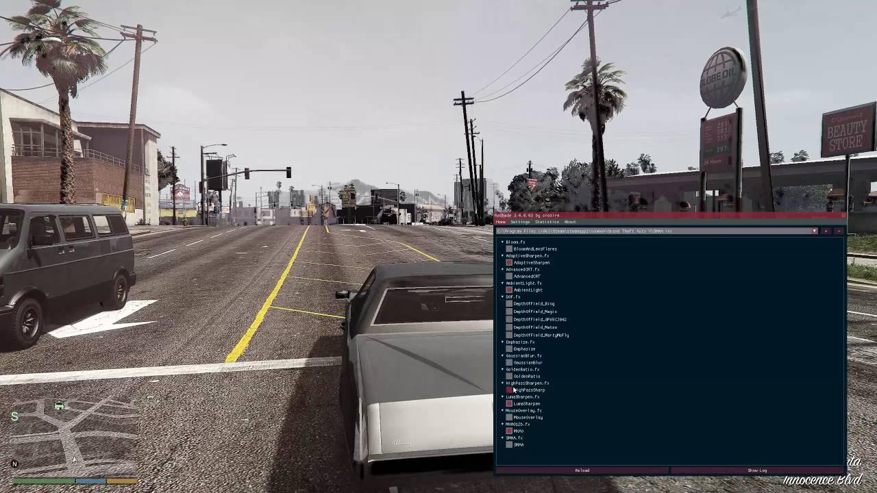 Reshade 3 0 on GTA V