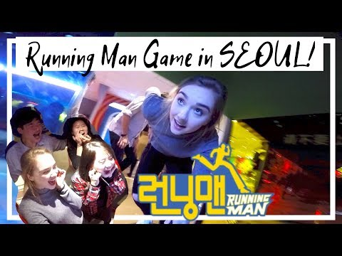 Running Man Game in Seoul! Feat. HeyitsFeii, Mina Oh and Rickykazaf!!