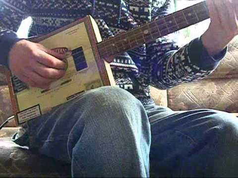 cigar box guitar lesson sitting on the dock of the bay youtube. Black Bedroom Furniture Sets. Home Design Ideas
