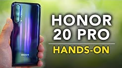 HONOR 20 Pro: Das letzte Honor mit Android? | Hands On / Kurz-Test