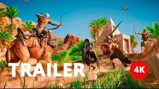 Assassin's Creed: Origins - Announcement Trailer E3 2017 4K