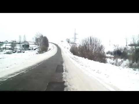 Грицовский Новомосковск ужасная дорога едим на автобусе лиаз 144 маршрут