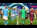 PES 2018 | Barcelona vs Manchester City | UEFA Champions League Final | Gameplay PC