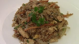 Chicken Fried Rice(simple And Easy)