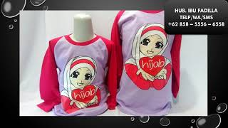 Video Jual Kaos Anak Karakter Muslim +62 858  - 5556 - 6558 download MP3, 3GP, MP4, WEBM, AVI, FLV Juni 2018