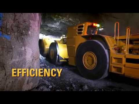 Cat® Underground Hard Rock Mining Vehicles In Action