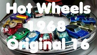 Hot Wheels Redline 1968 Original 16 Models - Video No.135 - July 29th, 2016