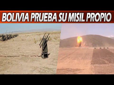 Bolivia Prueba Con Éxito Primer Misil de Fabricación Propia