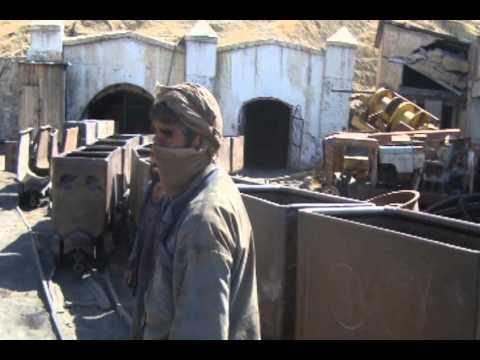 Mining Afghan coal