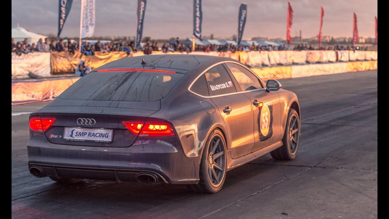 Fastest Audi RS7 in the World — 10.1 sec. on 1/4 mile - YouTube
