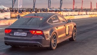 Fastest Audi RS7 in the World — 10.1 sec. on 1/4 mile
