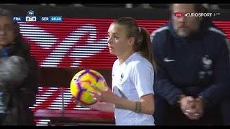 Frauenfußball Frankreich vs  Deutschland 28 02 2019 HD