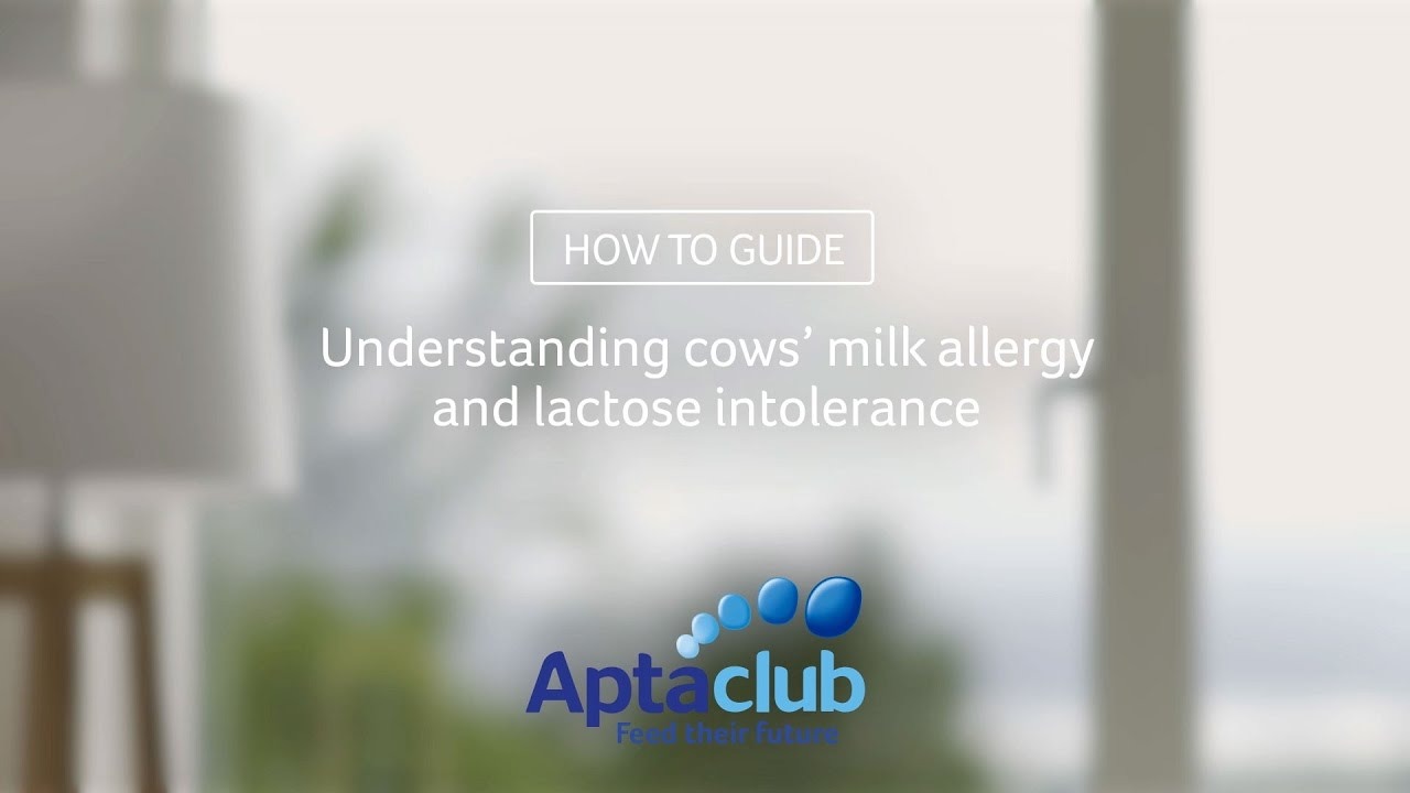 Baby Milk Allergy – Intolerance Symptoms & Advice – Aptaclub