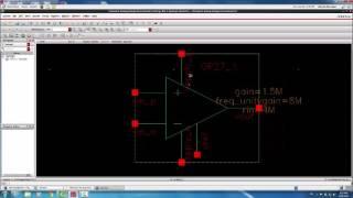 البرنامج التعليمي على إيقاع IC أدوات - Part4: OpAmps باستخدام ahdlLib + AC الاجتياح