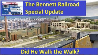 Bennett Railroad Special Update: June 1st, 2021