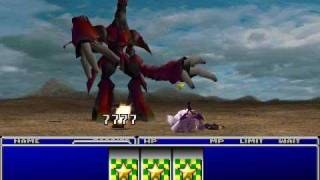 FFVII - Ruby Weapon (No Materia, No Items)