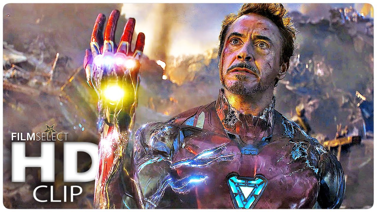 Download I Am Iron Man Snap! Clip - AVENGERS 4: ENDGAME (2019)