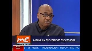 Morning Edition interview with Ozzi Warwick on labour and the economy