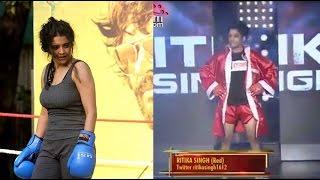 Irudhi Suttru Heroine's Real Boxing Match |Ritika Singh - Saala Khadoos